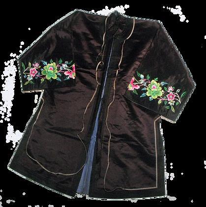 Festive Silk Robe