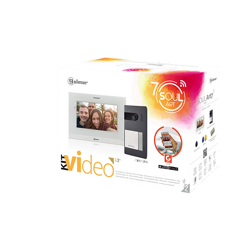 "S5110 Art7W  ""Soul"" Video Kit  with WiFi call forwarding"