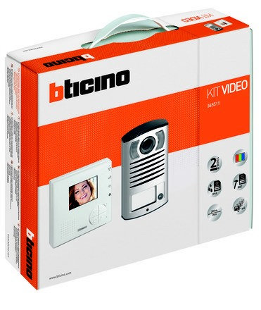 TRADE Bticino 365511 2 Wire Video Kit
