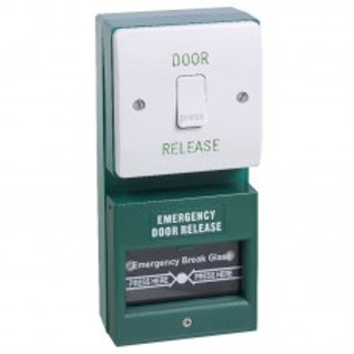 DU01/KGG1SG Exit button and break glass unit