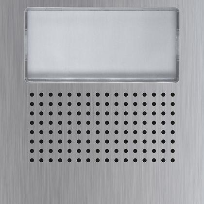 Golmar Nexa INOX audio/video grille modules