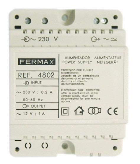 Fermax 4802 audio kit psu