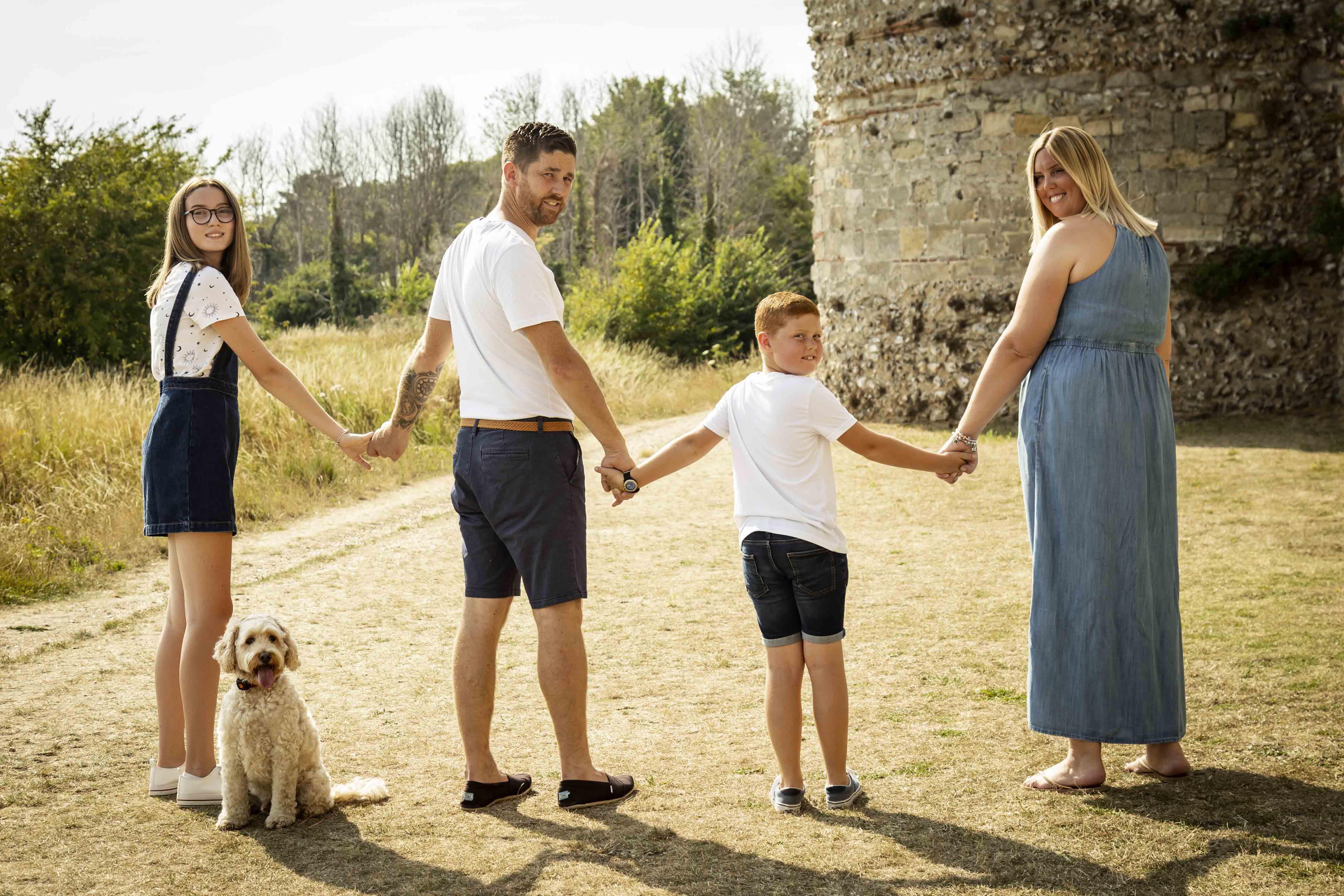 Family photography Gosport