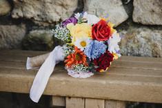 Wedding photography of wedding flowers.j