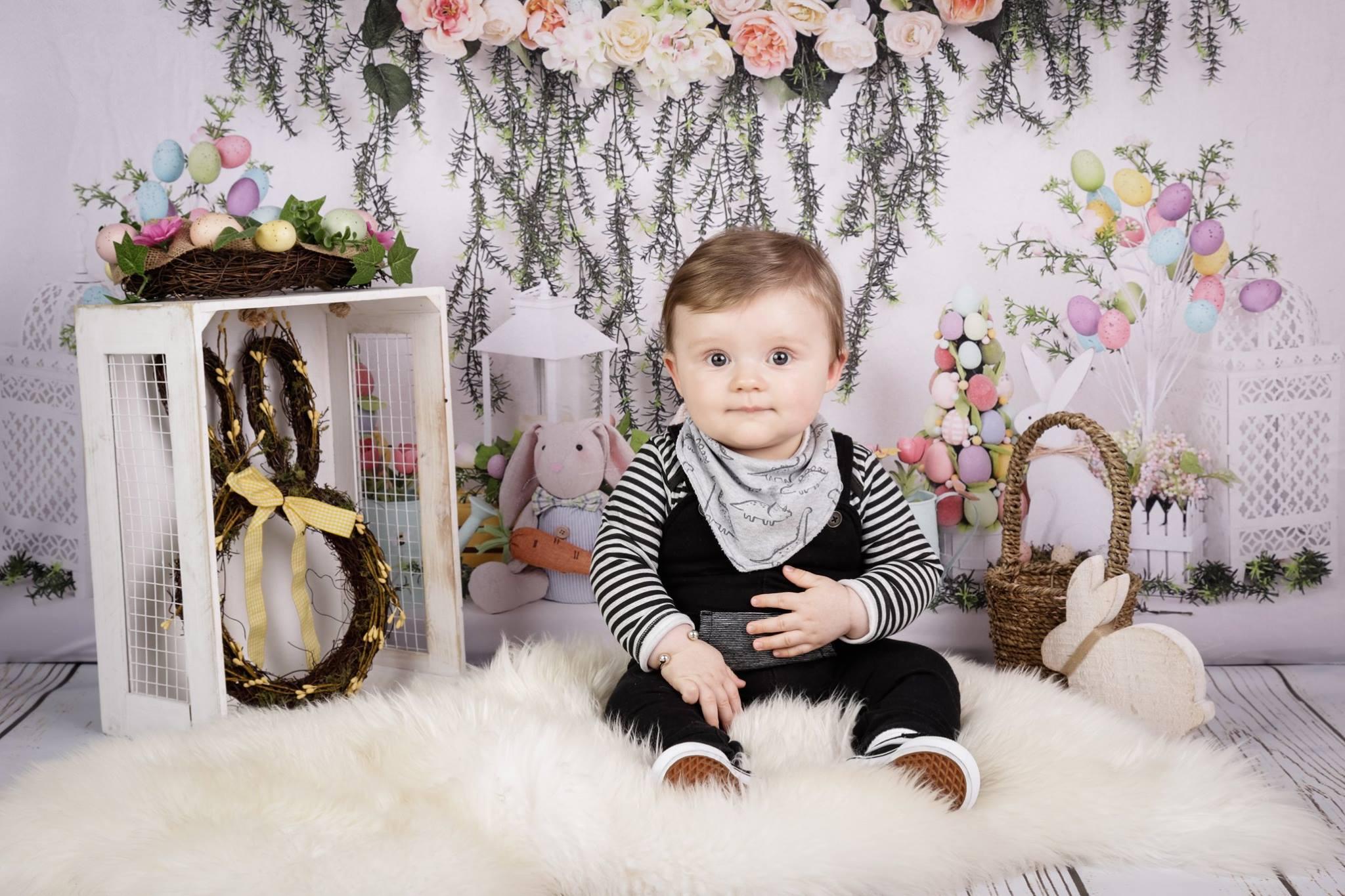 Easter pop up photography studio