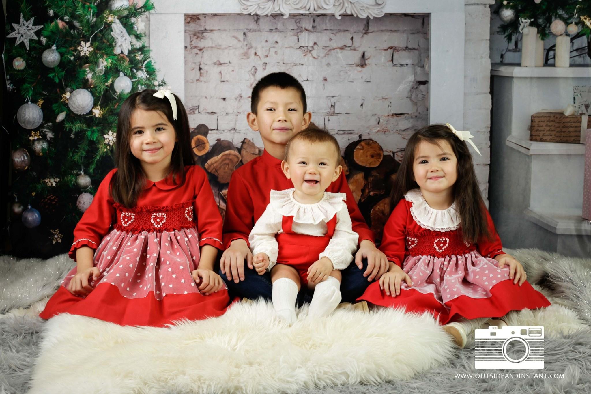 Christmas Pop up photography studio