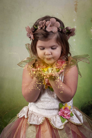 Photography studio fairy shoot Lee on th