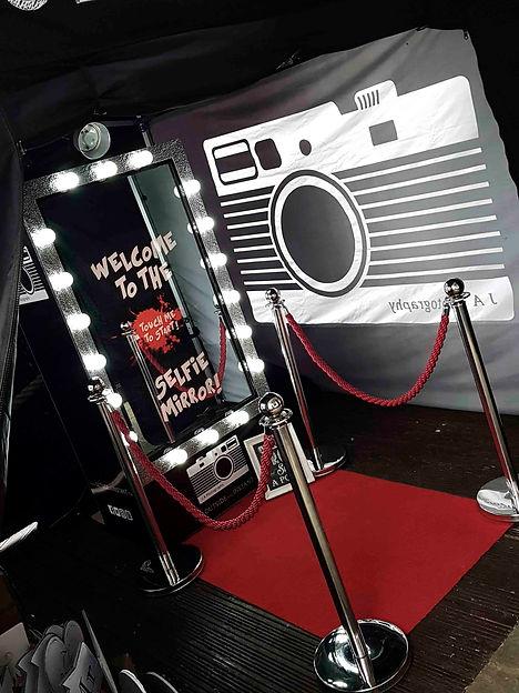 Full length Magic Mirror photo booth