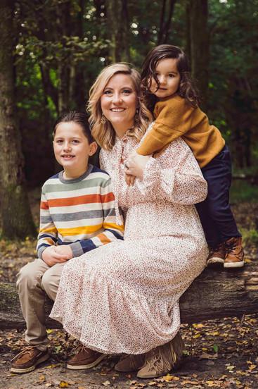 family autumn photo shoot , Fareham fami