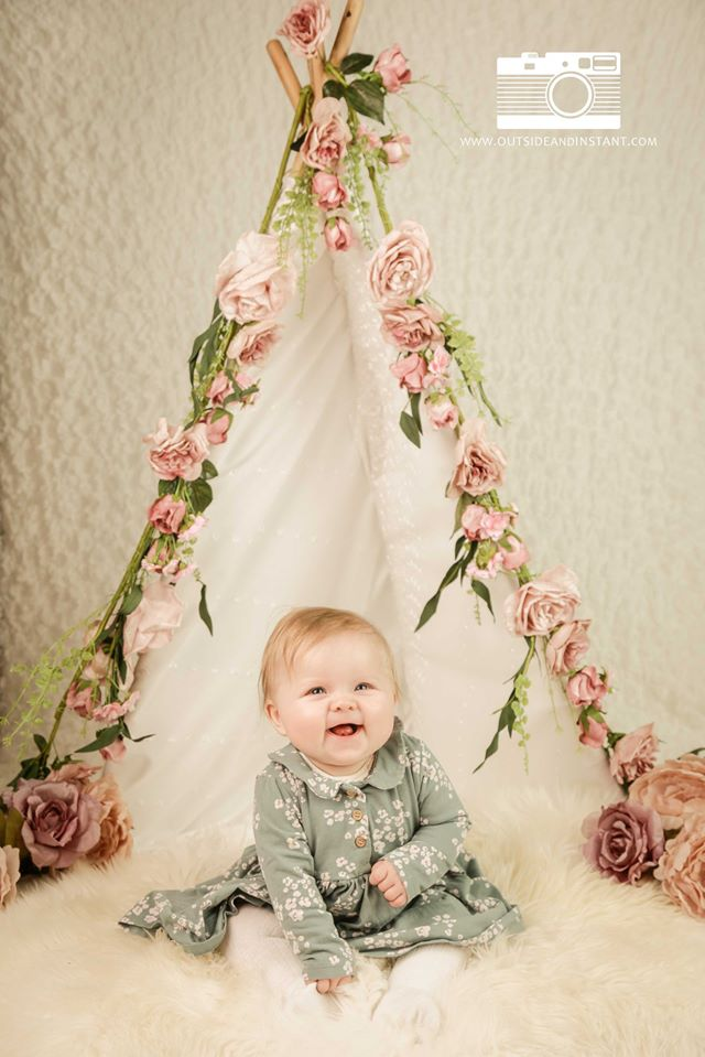 Baby Pop up photography studio