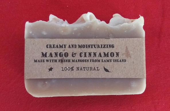 Mango & Cinnamon natural soap