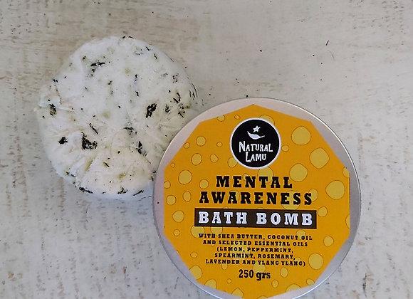 MENTAL AWARENESS BATH BOMB