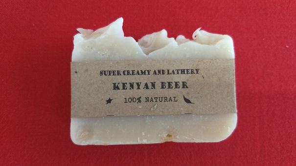 Kenyan Beer natural soap