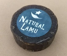 Round hotel natural soap