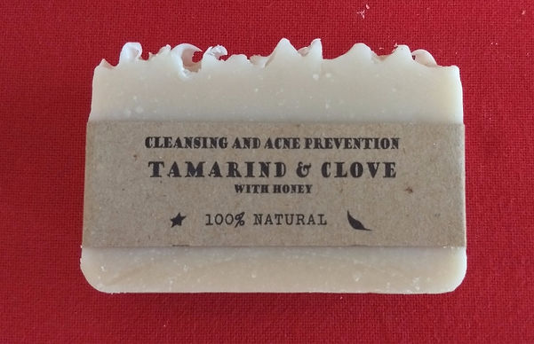 Tamarind & Clove natural soap