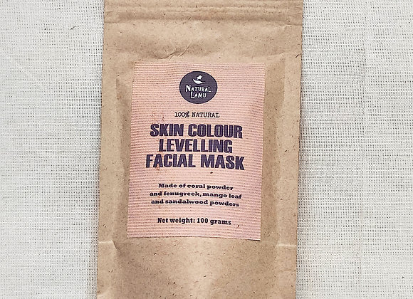 SKIN COLOUR LEVELLING FACIAL MASK
