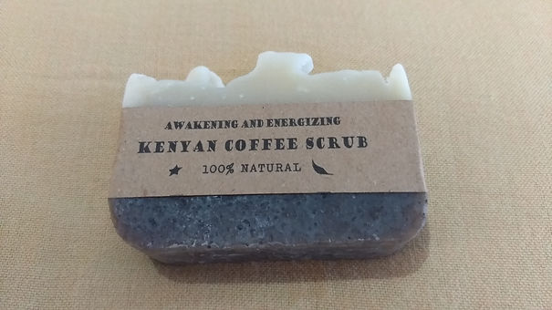 Kenyan Coffee natural soap