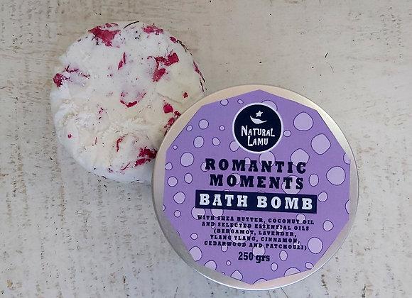 ROMANTIC MOMENTS BATH BOMB