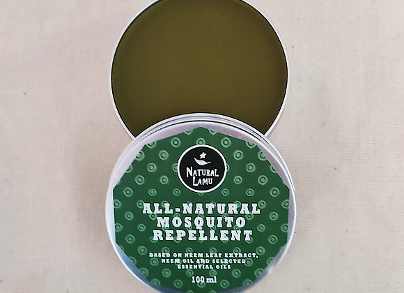 ALL-NATURAL MOSQUITO REPELLENT