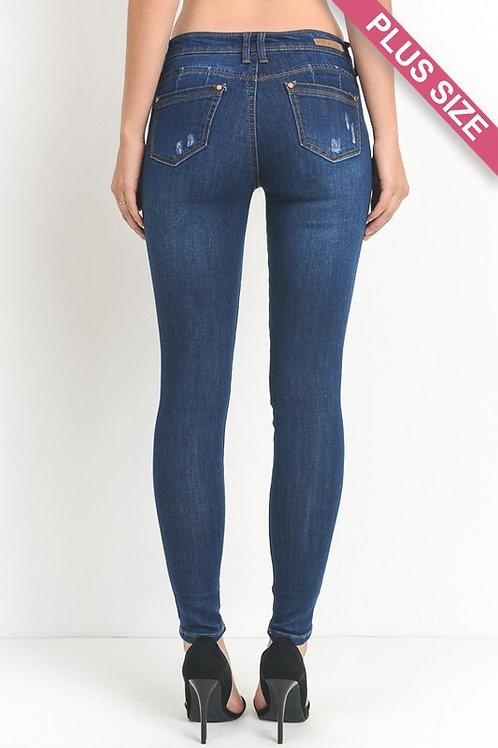 C'est Toi Skinny Jeans