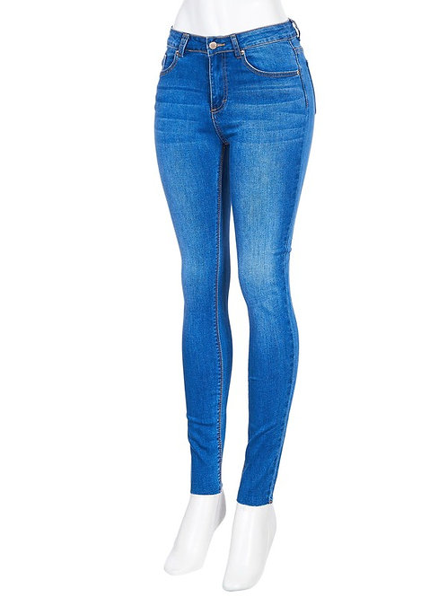 Color Story Mid-Rise Skinny Jean