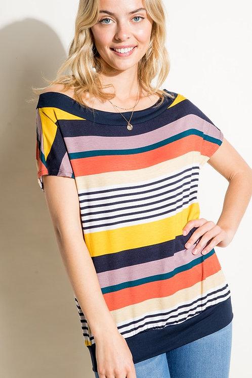 Multi Stripe Top