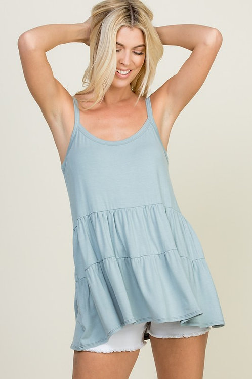 Tiered Tank Top
