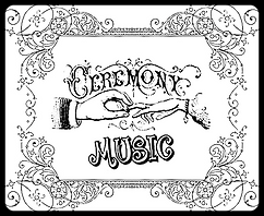 weddings, ceremony music