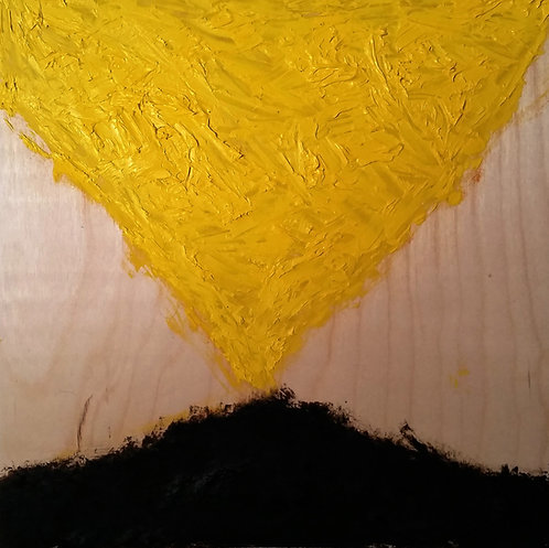 a moment with yellow and tar