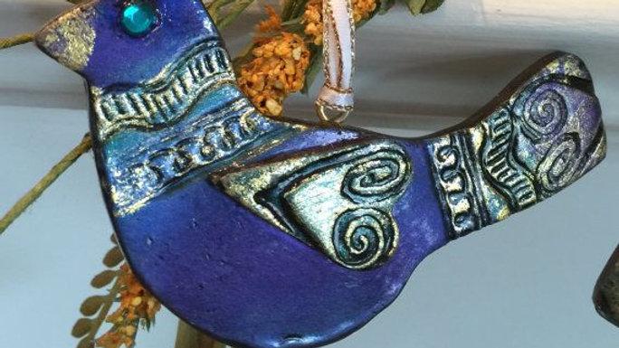 Polymer Clay BlueBird