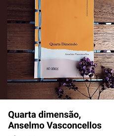 Livro Quarta Dimensão de Anselmo Vasconcellos