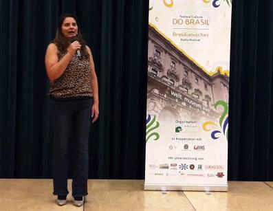 Diretora e idealizadora do Festival do Brasil em Viena, na Áustria, Vanessa Noronha Tölle
