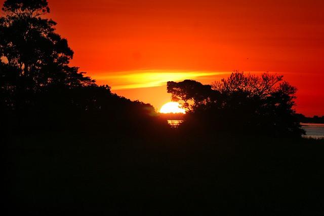 por do sol amazonia