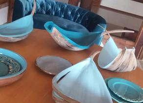 Tons de azul traz leveza a decoração