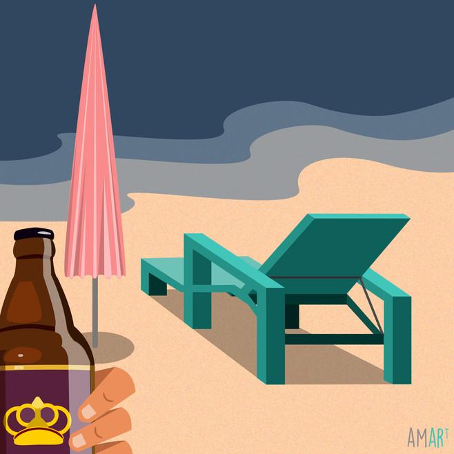 When In Goa, drink Kings!
