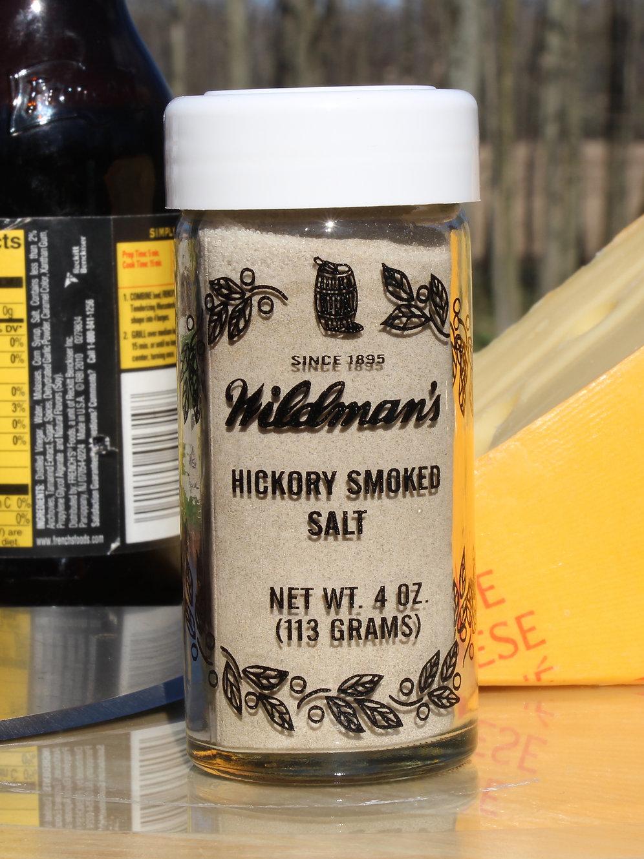 Hickory Smoked Salt | wildmans-spices