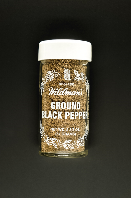 Pepper, Ground Black