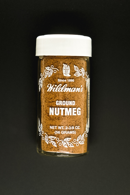 Nutmeg, Ground