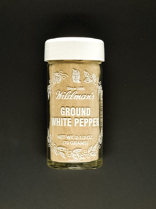 Pepper, Ground White