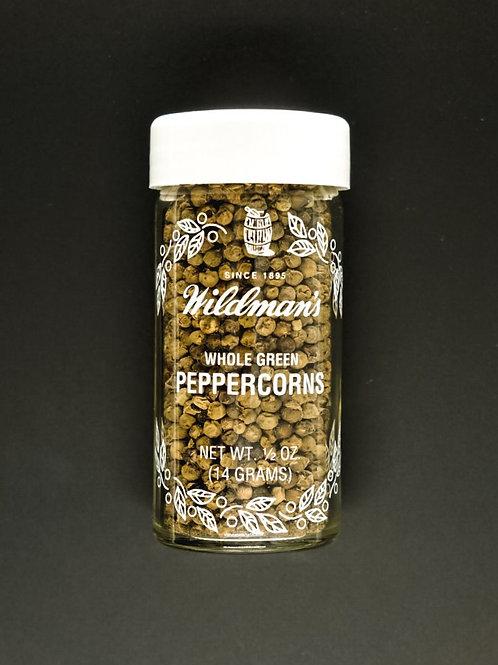 Peppercorns, Whole Green