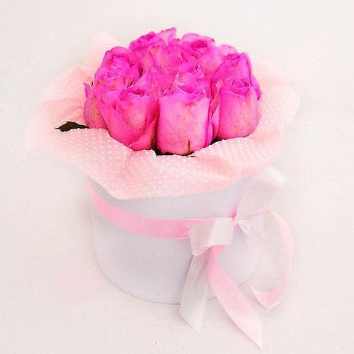Коробочка с цветами Няшность