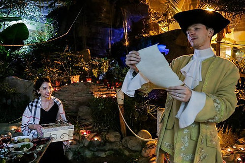 Венецианский посланник со скрипачом - сюрприз-доставка подарка