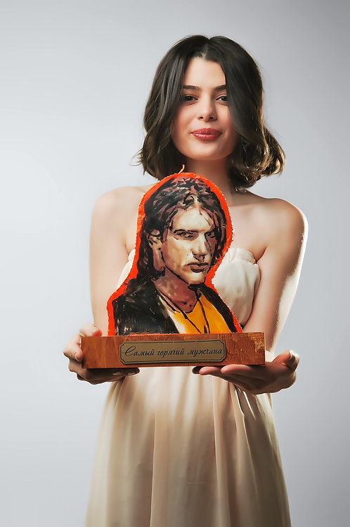 Свечной портрет (мужской)