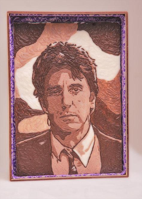 Шоколадный портрет (мужской)