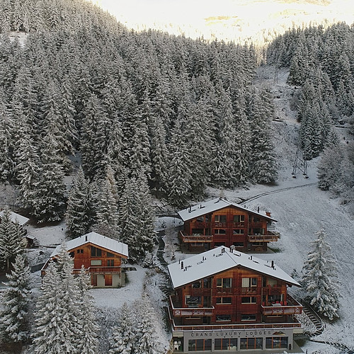 The Chalets in Winter