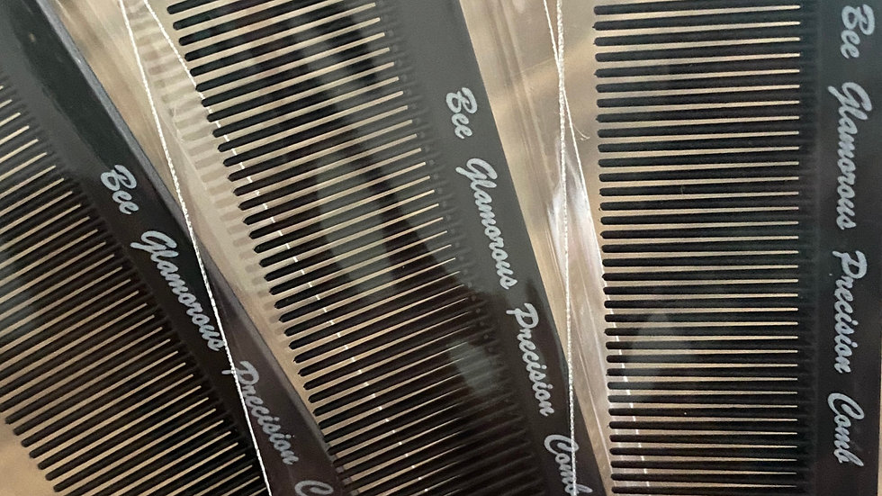 Bee Glamorous Precision Comb