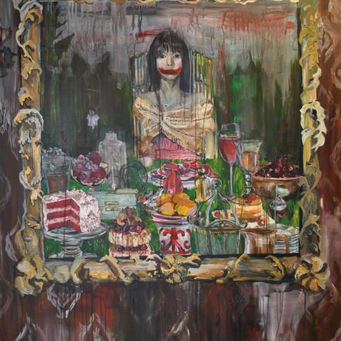 6.Mirror, acrylic on canvas, 48in. x 60in.2012.jpg