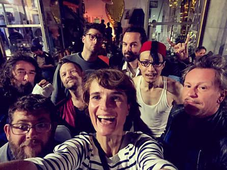 La Fanfare des Minuscuuls with Guillaume Maupin, Yannick Dupont, Patricky Clauwaert, Louis Evrard, Florian Guibert, Matthieu Ha , Teuk Henri & Cayo Scheyven