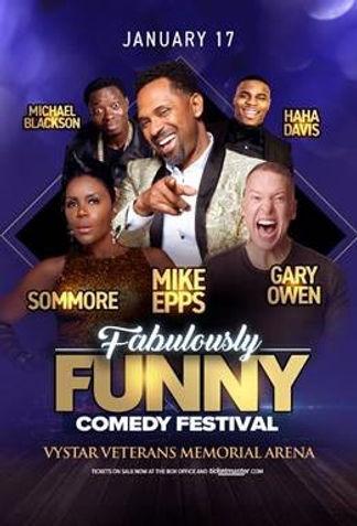 Fabulously Funny Comedy Festival- Jackso