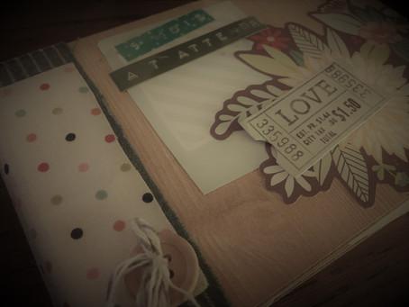 Carnet créatif de grossesse : réalisations